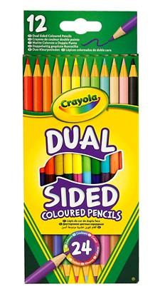 Färgpenna Dubbelsidig Crayola 12-pack