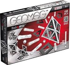 Geomag Panels Black & White, 68 delar
