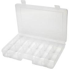 Förvaringsbox, stl. 27x19 cm, hålstl. 5x4,5 cm, 1 st.