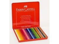 FABER-CASTELL värikynät 24 väriä