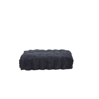 Handduk Wave Grå 50x100 cm  Bahne & Co - badlakan & handdukar