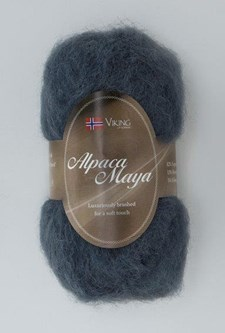 Viking of Norway Alpaca Maya 50 gr Mørk blå 726