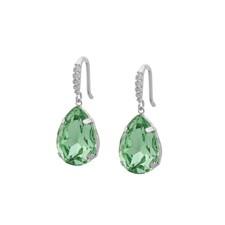 SNÖ of Sweden Birgit pendant ear s/light green