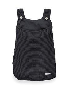 Storage Bag, Heavy Knit Black, Jollein