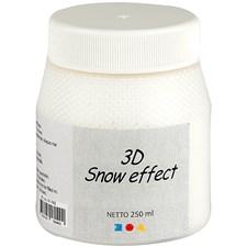 3D Snow effekt, hvit, 250ml