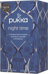 Pukka Te Night Time Tepåsar 20 st Ekologisk
