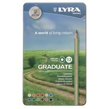 Lyra Graduate färgpenna 12-pack