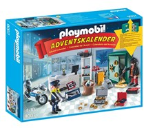 Adventskalender 2016, Polisjakt, Playmobil (9007)