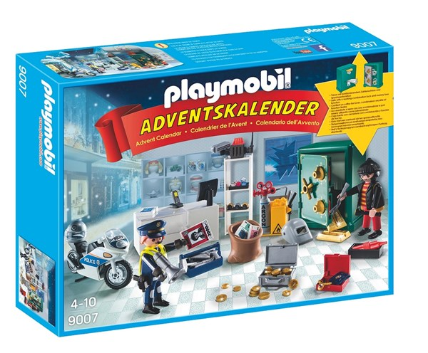 Adventskalender 2016, Politioperasjon juveltyv, Playmobil (9007)