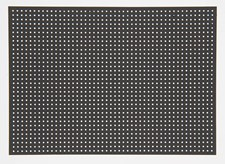 Platta Broderi 17,5x24,5 cm Svart 10 Blad