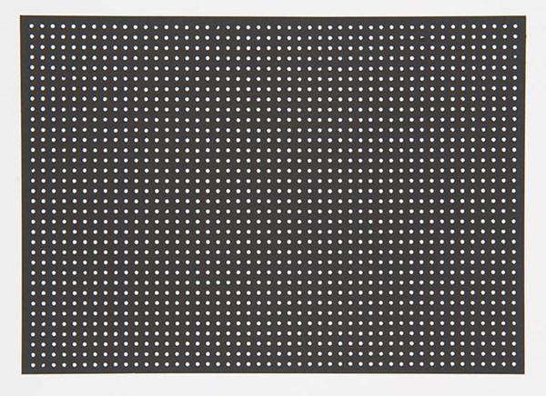 Broderibrett, Svart 17,5 X 24,5 cm, 10 blad, 300 g