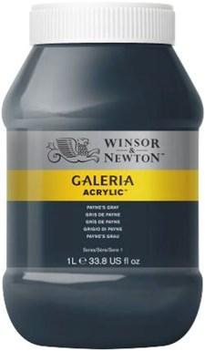 Galeria Akryylit 1 litra 465 Payne harmaa