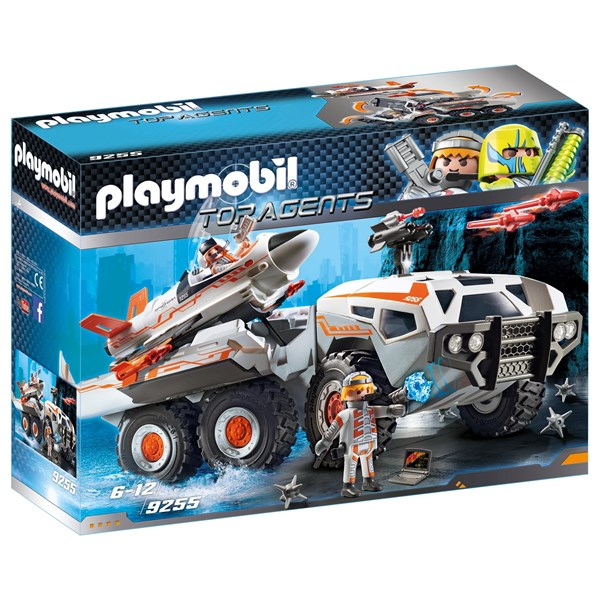 Spionernas attackfordon  Playmobil Top Agents (9255) - playmobil