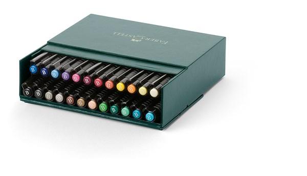 Soft Brush Pen Pitt Artist Faber-Castell 24 farger