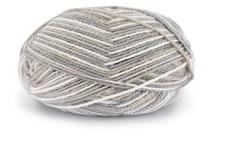 Dale Garn Alpakka 50 g Print Gray/Beige/Offwhite 9956