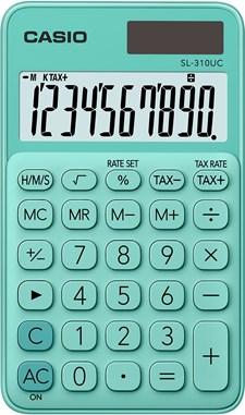Casio miniräknare SL-310UC GN