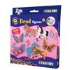 Perlesett, Hest og sommerfugl, 2000 stk, Playbox