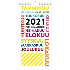 Perhekalenteri 2021 TrendArt Burde