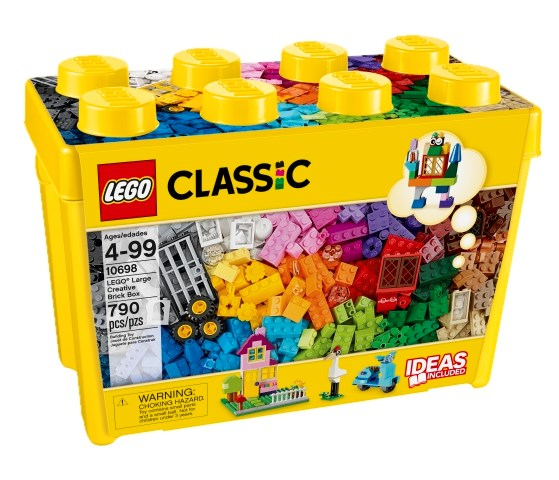 LEGO Fantasiklosslåda stor  LEGO Classic (10698)  Lego