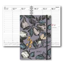 Kalender 2017 Weekly Burde A6 Paradis