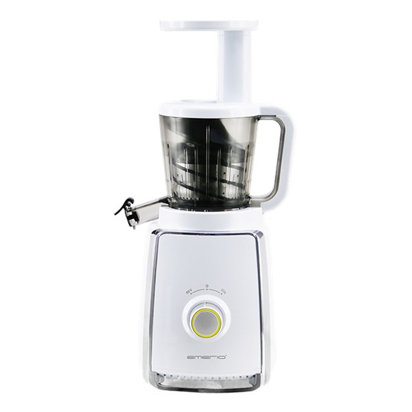 Emerio Slow Juicer Vit (hvit) - citrus & juicepressar
