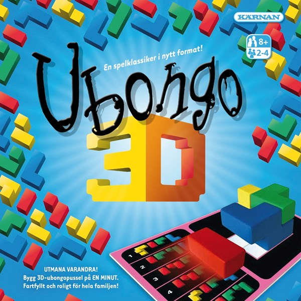 Ubongo 3D, Sällskapsspel (SE)
