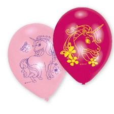 Enhörning ballonger, 6 st