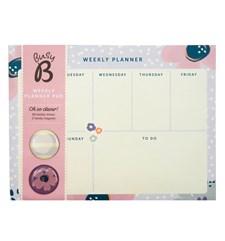 Kalenderblock och musplatta i ett med magneter