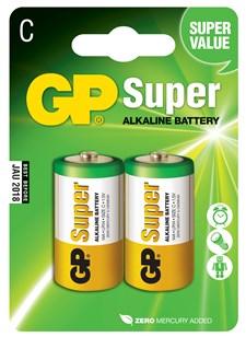 Batteri Alkalisk C 1,5 V 2 st