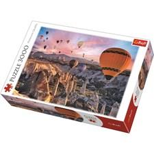 Puslespill, Balloons over Cappadocia, 3000 brikker