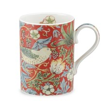 Royal Worchester Strawberry Thief Mugg 35 cl Porslin Röd