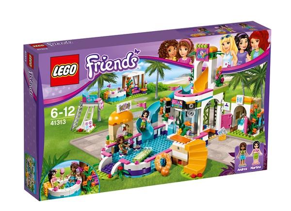Heartlaken kesäuima-allas, Lego Friends (41313)