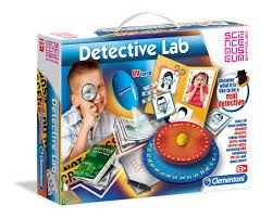 Detective Lab  Detektiv-kit  Clementoni - experiment- & aktivitetslådor