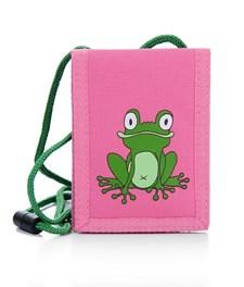 Reiselommebok Frosk, Rosa, Pick & Pack