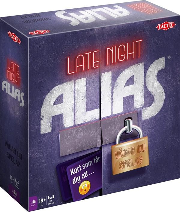 Late Night Alias, Partyspel