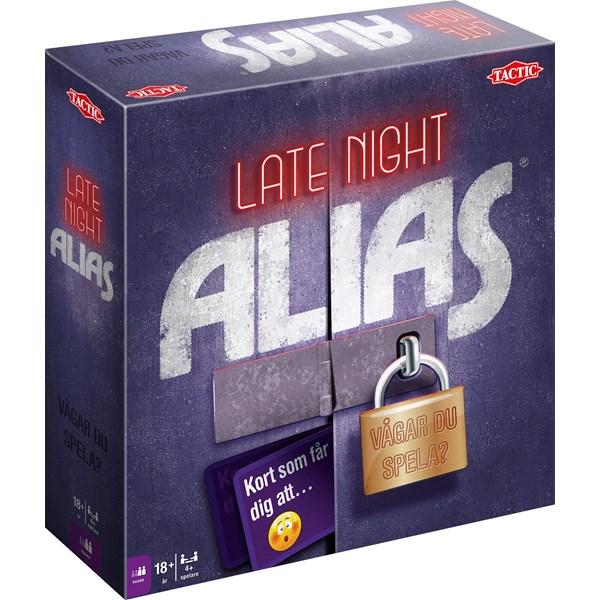 Late Night Alias, Partyspel (SE)