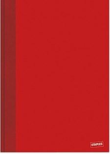 Anteckningsbok A4 Linjerad Röd