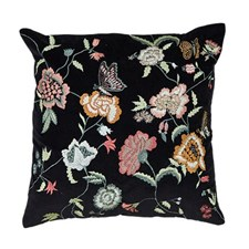 Tyyny kukka veluuri sisätyynyllä 45x45 cm