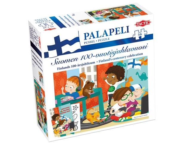 Suomi 100 palapeli, Lasten Suomi nykyään, 56 palaa