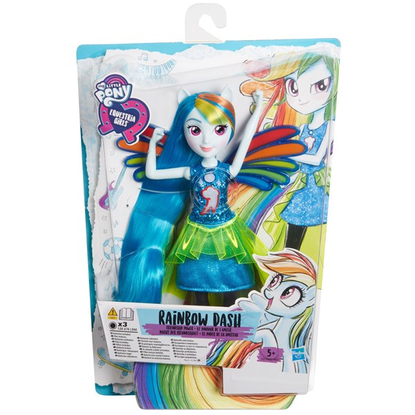 Rainbow Dash  Equestria Girls  My Little Pony - figurer & miniatyrer