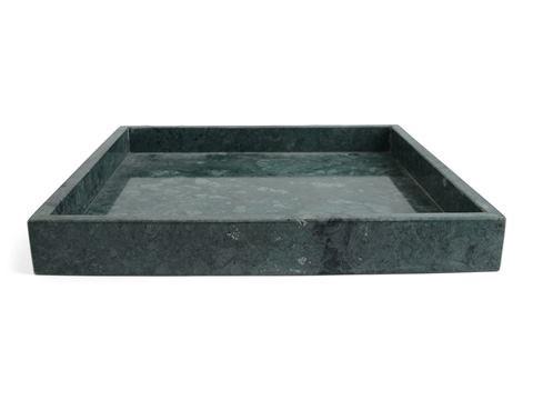 Form Living Bricka kvadrat Marmor 30x30x4cm Beige - fat & serveringsskålar