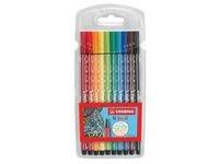 Ritpenna Fineliner Stabilo Pen 68 Multi 10-pack