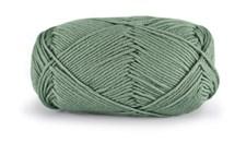 Dale Garn Lerke Ull Bomull Mix 50 g Jade grön 8101