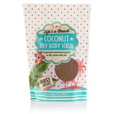 Dirty Works Coconut Dry Body Scrub Powder 200g