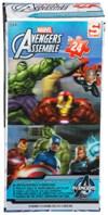 Puslespill, 2 x 24 brikker, Avengers