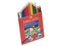 Akvarellikynät Faber- Castell 24 väriä