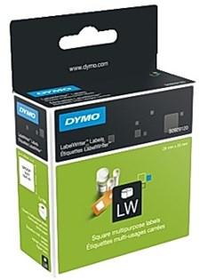 Etikett DYMO universal 25x25 mm (750)
