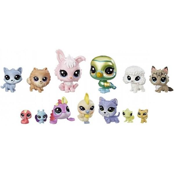 Topmoderne Littlest Petshop set, Papegoja, Littlest Pet Shop- figurer og YL-55