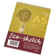 Luonnoslehtiö Eco, A5 148x210 mm, 100 g, 25 ark