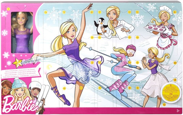 Adventskalender 2018, Barbie